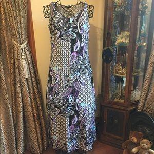 Elementz sleeveless long dress